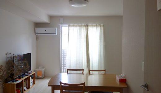 リビングにソファのない生活|キッチン近くの部屋に移動したら便利だった